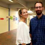 Gruppe 1 v.l. Sarah Lieven und Christoph Ernst