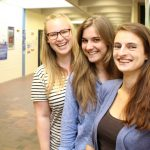 Gruppe 6 v.l. Laura Kintscher, Nicola Schäfer und Theresa Kern