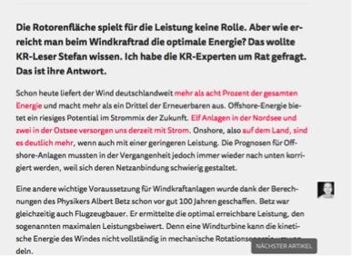 Abbildung 10 Quelle: Krautreporter (17.05.2016): Die Antwort: Warum haben Windräder so extrem dünne Blätter? Online: https://krautreporter.de/1489--die-antwort-warum-haben-windrader-so-extrem-dunne-blatter (zuletzt aufgerufen: 23.06.2016).