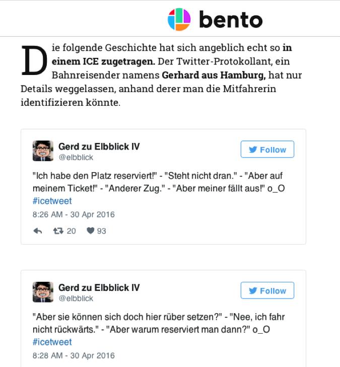 """Abbildung 3 Quelle: Bento.de (17.05.2016): """"Aber ich habe reserviert!""""-Die irre Geschichte einer Bahnfahrt. Online: http://www.bento.de/haha/aber-ich-habe-reserviert-die-irre-geschichte-einer-bahnfahrt-569864/ (zuletzt aufgerufen am 01.07.2016)."""