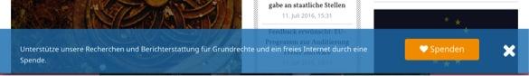 Abbildung 4 Quelle: Netzpolitk.org (01.07.2016). Online: https://netzpolitik.org (zuletzt aufgerufen am 01.07.2016).