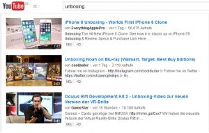 Auf der Videoplattform Youtube finden sich unzählige Unboxing-Videos