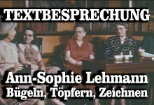 Textbesprechung – Ann-Sophie Lehmann: Bügeln, Töpfern, Zeichnen oder: How to Youtube