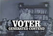 Voter Generated Content