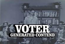 Voter Generated Content